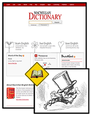 The Macmillan Dictionary is in the educational tradition.